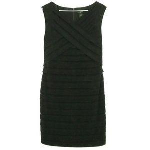 Ann Taylor Size 6 Black Bodycon Dress